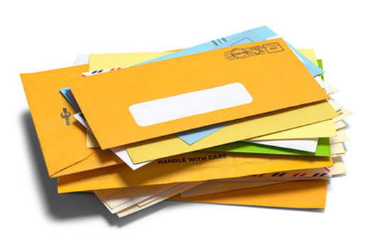 Business Letters Processed with Mailing Equipment